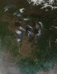 wildfires in eastern russia nasa