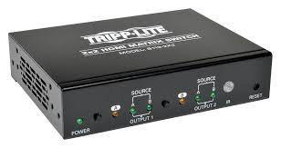 B119-<b>2X2</b> - TRIPP-LITE - <b>HDMI Switch</b>, 2 <b>Port</b>, 1920x1200