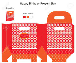 red and orange present box royalty cliparts vectors and red and orange present box stock vector 14151338