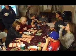 Image result for picture of family playing Tambola game