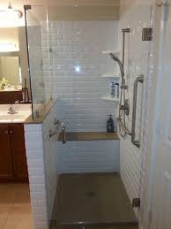 ideas shower systems pinterest: classic subway rebath wall system with onyx collection shower base