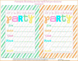 birthday party invitations bibliography format 11 birthday party invitations