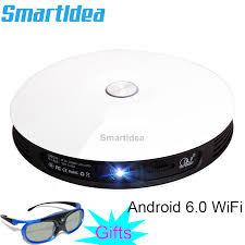 Smartldea <b>M18</b> Projector HD 1080p Android 6.0 WiFi Mini <b>Smart</b> ...