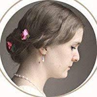 Winter Tea For One Earrings - Blue Flower Tea Cup ... - Amazon.com