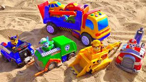 <b>Щенячий Патруль</b> и <b>машинки с</b> автовозом. Развивающие ...