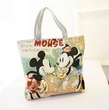 <b>Disney Mickey Mouse Cartoon</b> Large Capacity Shopper cowboy ...