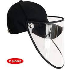 WYZDQ Anti-Saliva Splash Baseball Cap Transparent Protective ...