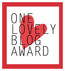 Image for one lovely blog award