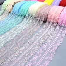 <b>New</b>! <b>10 yards beautiful</b> lace ribbon, 3.8 cm wide, DIY decoration ...
