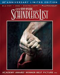 nixpix dvd blu ray reviews  schindler s list blu ray universal 1993 universal home video