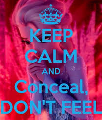 5. Conceal, Don't Feel - 11 Funny Frozen Quotes to Use in Your ...