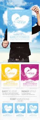 best images about print templates fonts flyer love flyer template