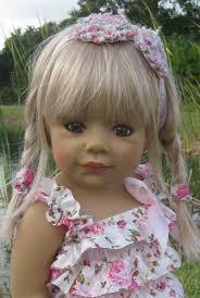 Masterpiece Dolls Thursday's Child By Monika Levenig Blonde Collectible Doll - thursday_1
