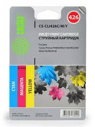 <b>Картридж</b> струйный <b>CS</b>-<b>CLI426C</b>/<b>M</b>/<b>Y</b> голубой/пурпурный/желтый ...