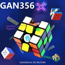 <b>Gan 356 X 3x3x3</b> Magnetic Cube 3x3 Magic Cube Speed Gan Cube ...