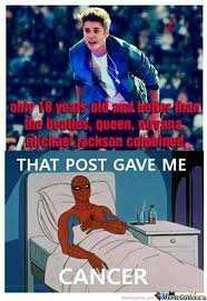 It Gave Spiderman Cancer by maroin33 - Meme Center via Relatably.com