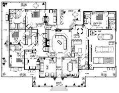images about House Plans on Pinterest   Country house plans    Floor Plans AFLFPW   Story Farmhouse Home   Bedrooms  Bathrooms and