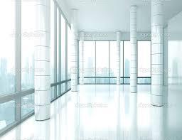 bright empty office interior stock image bright office
