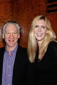 Ann Coulter and boyfriend Bill Maher