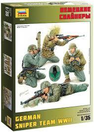<b>Звезда Сборная модель Немецкие</b> снайперы — купить в ...