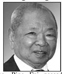 Wong, Ping Fui Wong, Ping Fui passed away peacefully at the age of 81 years ... - Dai20106181159516