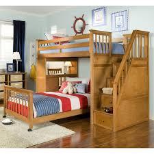 ivory wooden bunk bed bedroom kids bed set cool bunk beds