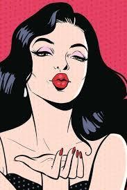 Pin by Vanessa Alves on Aaa   Pop art drawing, <b>Pop art girl</b>, Pop art ...