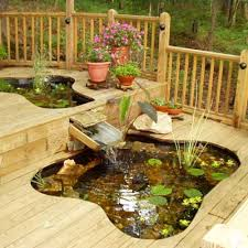 diy patio pond: have your deck and a pond too best ponds from readers yards