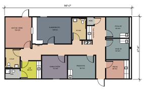 one physician office 1540 sf business office floor plan