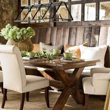 barn kitchen table vintage dining room design with pottery barn trestle kitchen table chandelier loft edison bulb glass