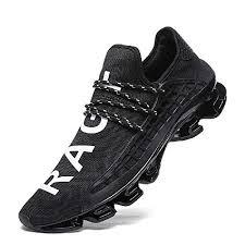 XIDISO <b>Mens Running Shoes</b> Womens Slip On Blade Mesh <b>Fashion</b>