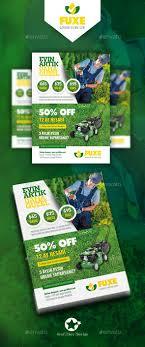 1000 images about flyer templates design tennis garden landscape flyer templates