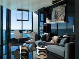black and blue office with lavish furniture design ideas for a modern home office blue modern home office