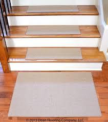 ''Dean Non-Slip Tape Free Pet Friendly DIY <b>Carpet Stair Treads</b> ...