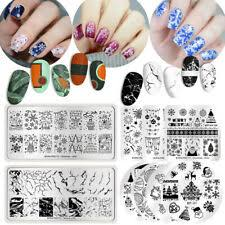 Halloween <b>Nail Art</b> Stamping Plates for sale | eBay