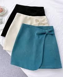 <b>Autumn Winter</b> Blue Women Skirts Women High Waist A-Line Skirts ...
