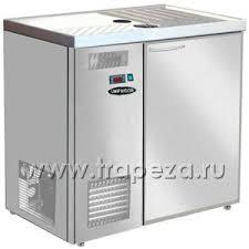 Стол холодильный для кег и розлива пива, L0.90м, без борта, 1 ...