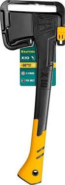 Купить <b>Топор Kraftool X10</b> средний черный/оранжевый (<b>20660-10</b> ...