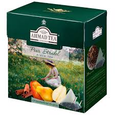 Ahmad <b>Tea</b> Pear Strudel <b>черный чай</b> в пирамидках, 20 шт ...