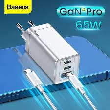 <b>Baseus 65W GaN2 Pro</b> USB Charger Quick Charge 4.0 PD Fast ...