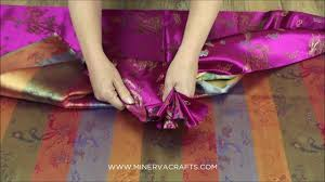 <b>Chinese</b> Satin Dragon <b>Brocade Dress Fabric</b> - YouTube