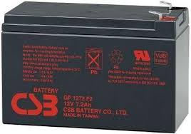 <b>Батарея</b> аккумуляторная для ИБП <b>CSB GP1272</b> (<b>28W</b>) F2 12V 7.2Ah