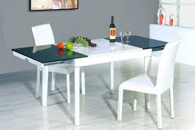 extendable dining table set: modern extendable dining table set a ridingroom