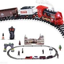 Kids Play Battery Operated <b>Christmas Toy Train</b> Set