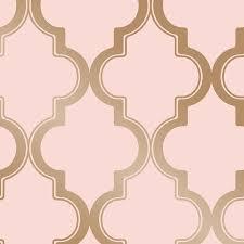 <b>Pink Geometric</b> Wallpaper at Lowes.com