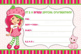 strawberry shortcake invitations hollowwoodmusic com strawberry shortcake invitations as a result of a pretty invitation templates printable for your good looking invitatios card 5