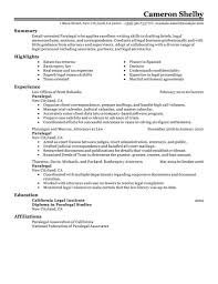 paralegal resume resume format pdf paralegal resume paralegal resume example legal assistant resume template sample paralegal resumes that stand out