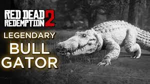 Red Dead Redemption <b>2</b> - Legendary <b>Alligator</b> (Bull <b>Gator</b>) - YouTube