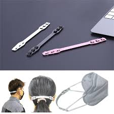 25# 10pcs Third Gear <b>Adjustable Anti slip Mask Ear</b> Grips Extension ...