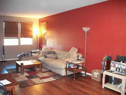 room paint red: living room modern wooden dinning table withhouseplant room paint ideas with accent wall glass top